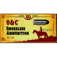 450.205/.215 CAS Patronen Smokeless (Lead Bullet) .45LC, .44-40