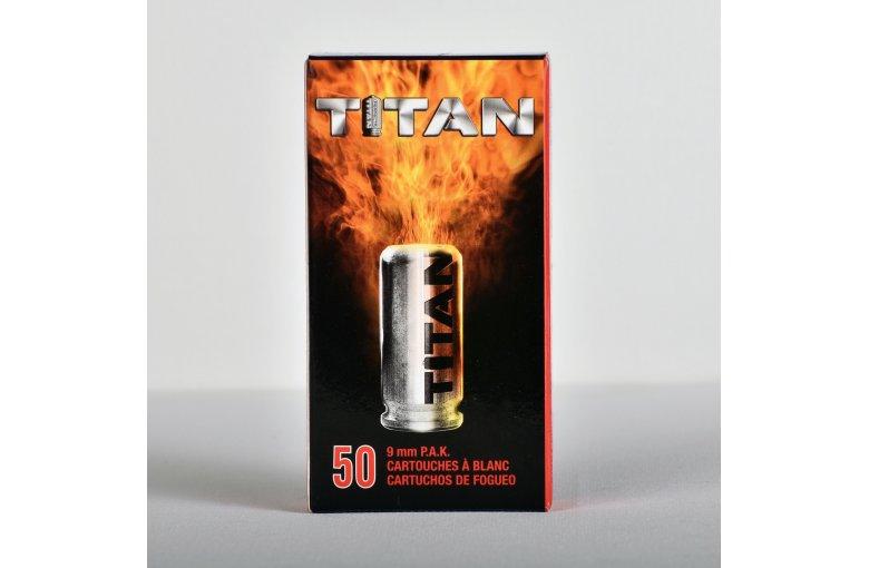 9mm Pistolen-Knallmunition Titan aus b. Munition f. Freie