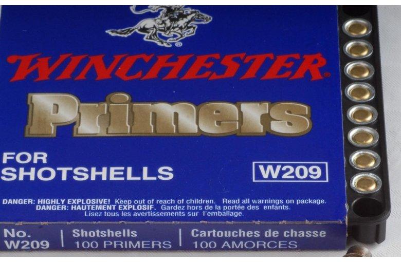 Winchester Zündhütchen W209 aus 7. ZUBEHÖR bei Waffen HEGE