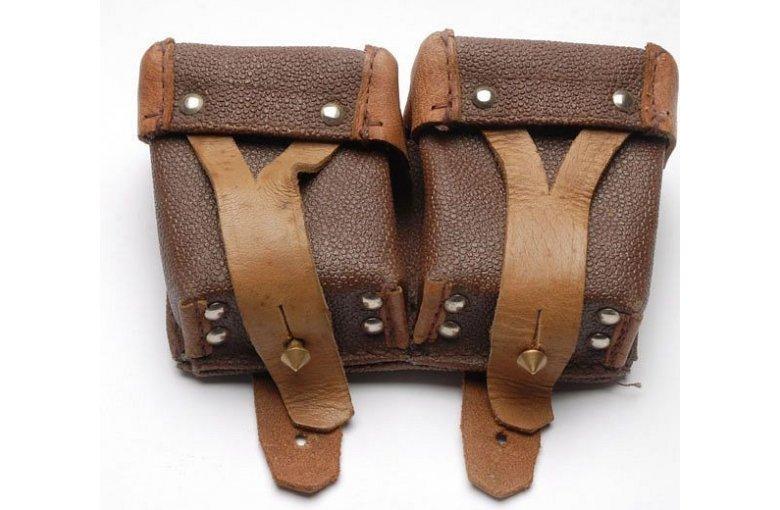 Doppel Patronentasche für Russ. Mosin Nagant aus 7. ZUBEHÖR bei