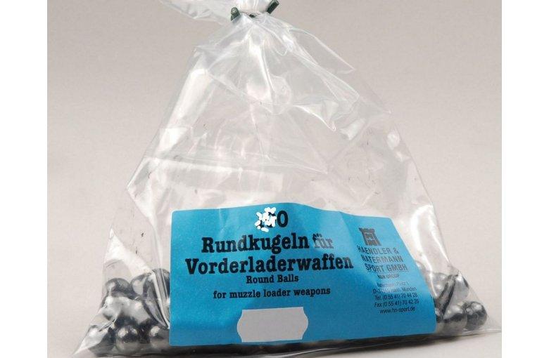 389.153../.170 Blei-Rundkugeln H&N.535 -.560 (50Stk)