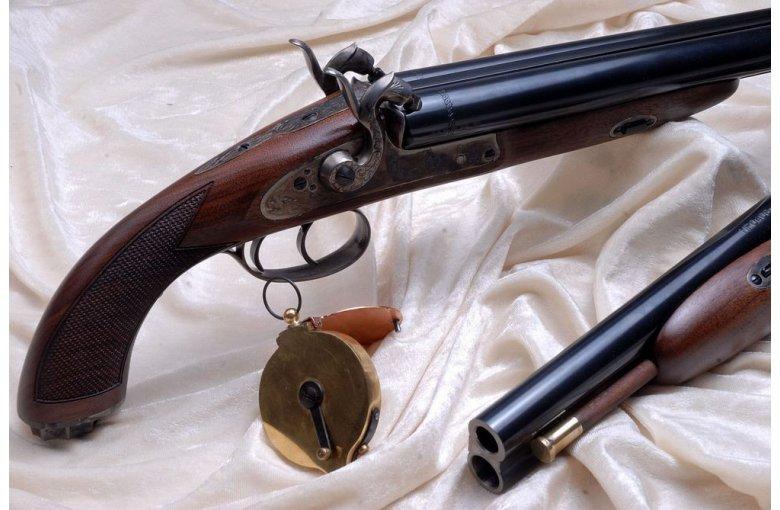 320.086/.087/.088/.89 HOWDAH HUNTER Pistolet Kapiszonowy