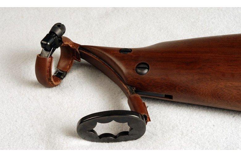 USA.133 Gewehrschaft für die Howdah-Pistole aus 2. PEDERSOLI