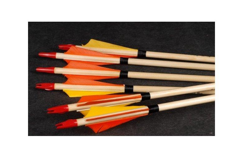 53G.264 tradycyjne strzały drewniane CLASSIC