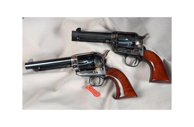 """.44 HEGE-Uberti Revolver (4 3/4"""") aus b. Revolver geschl."""