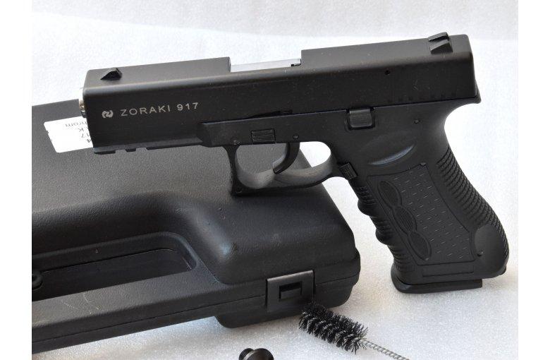 Mod. Glock 17 von Zoraki, Stahl-Chrom, Schreckschuss