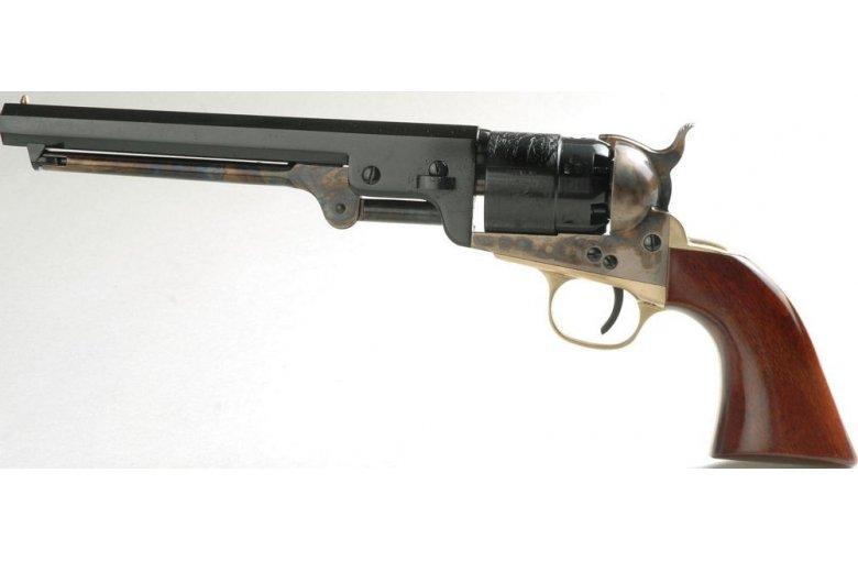 Vorderlader Revolver Colt Navy 1847/51 Oval 7,5 aus a.Revolver