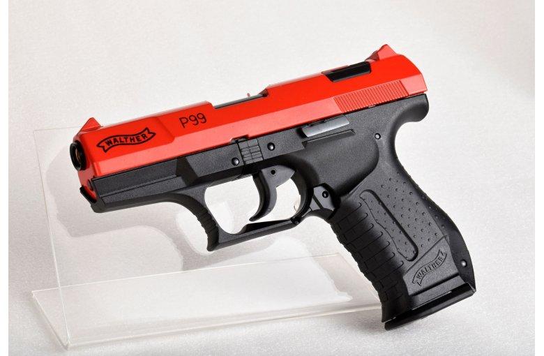 copy of Walther P99 Schreckschuss Pistole 9mm P.A.K. schwarz