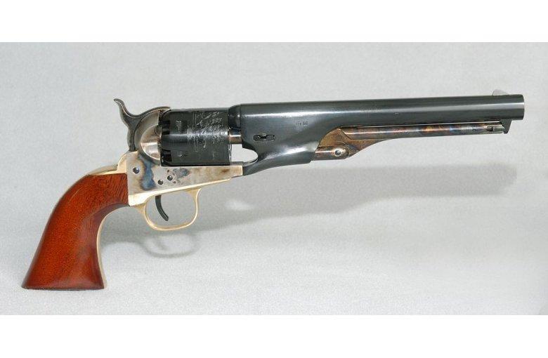 New Navy Military/Civil 1861 rund 7,5 aus a.Revolver offener