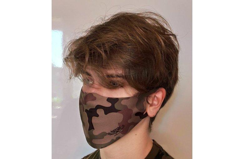Jugend & Damen Gesichtsmaske Mund-Nase-Bedeckung waschbar Tarn