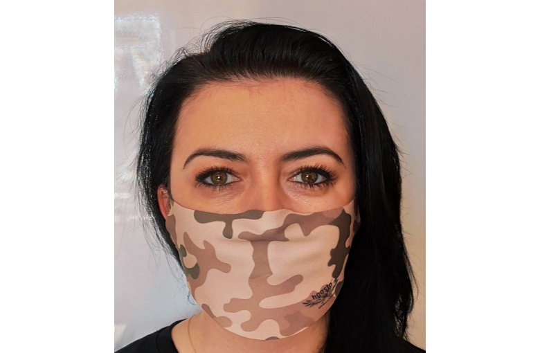 Jugend & Damen Gesichtsmaske Mund-Nase-Bedeckung waschbar Wüste