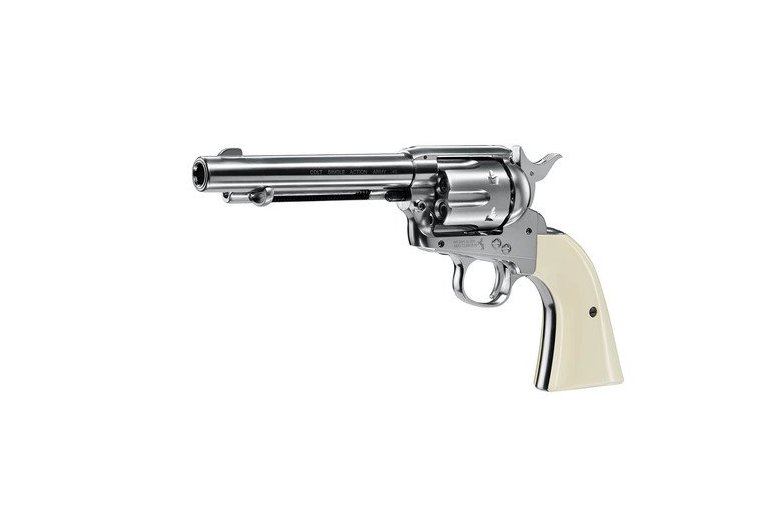 "copy of Colt SAA.45-5.5"" Nickel Finish aus Frei ab 18 bei"