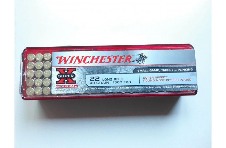 .22lr Winchester Super Speed aus d. KK-Munition bei Waffen HEGE