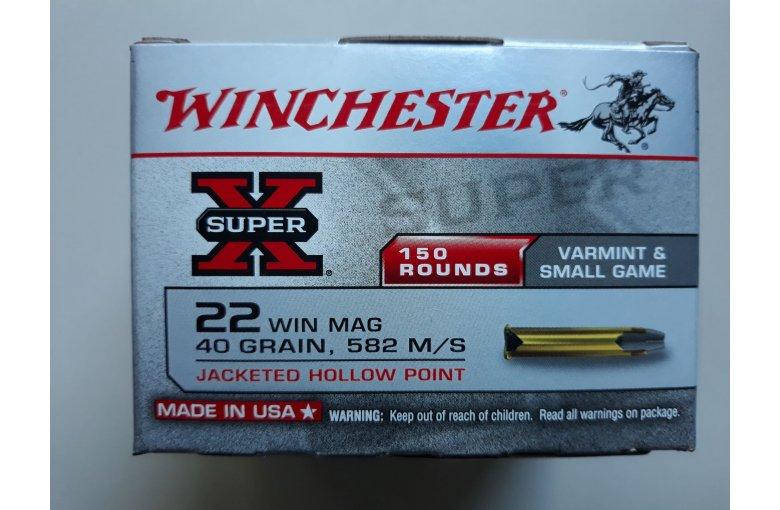 .22WinMag Winchester Super X aus d. KK-Munition bei Waffen HEGE