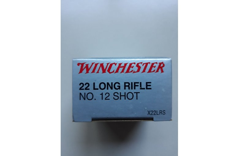 .22 Winchester Lang Schrot Super X aus d. KK-Munition bei