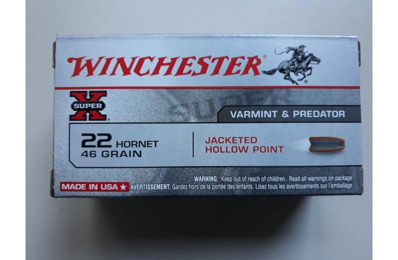 .22 Hornet Winchester Super X aus b. Jagdmunition bei Waffen