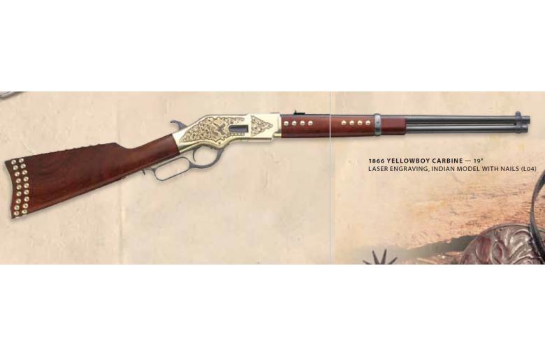 """""""Indian"""" Western Carbine 1866 aus b. 1866 Winchester +KK bei"""