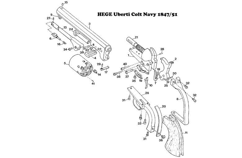 Ersatzteile aus Einzelstücke bei Waffen HEGE kaufen
