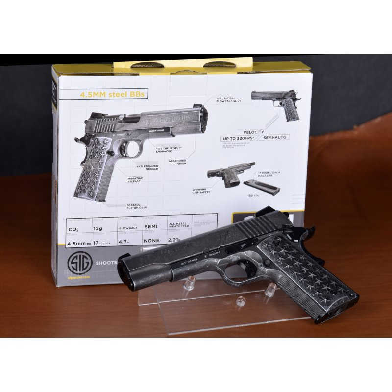 copy of Swiss Arms P1911 BlowBack Vollmetall