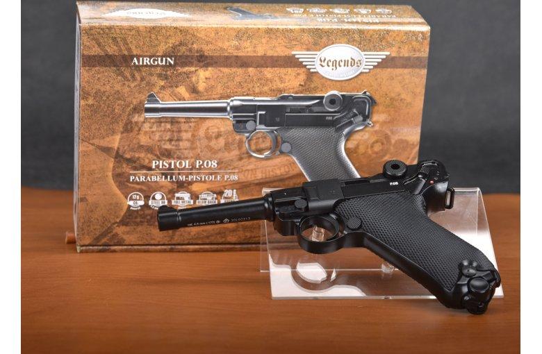 Legends P08 CO2 Pistole aus Startseite bei Waffen HEGE kaufen