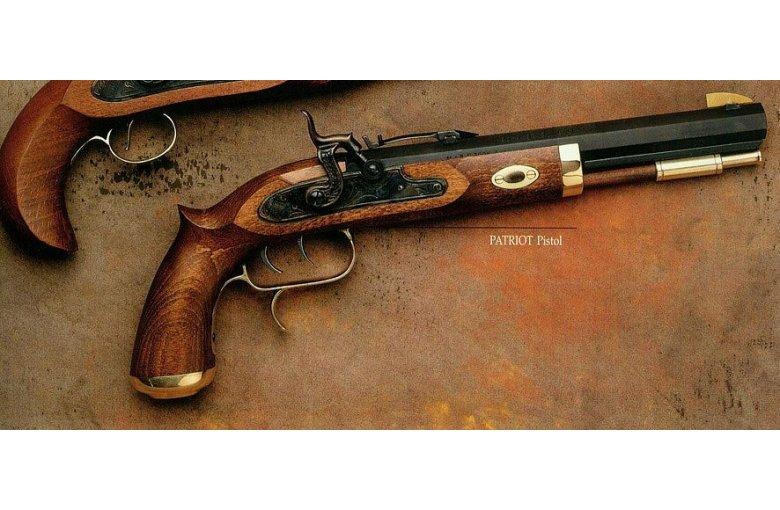 320.096/325.016 TRAPPER Pistole, Perkussion/Stein.45