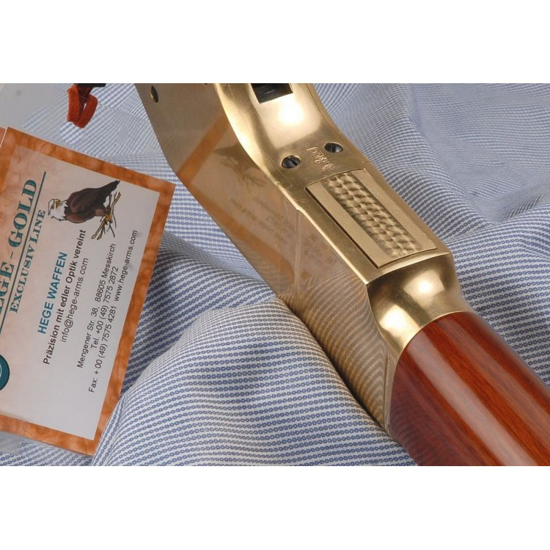 350.000 HEGE GOLD LINE 1866 Rifle.22