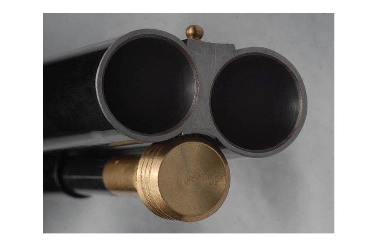 339.005 SIDE BY SIDE SLUG, Perkussionsflinte, Schrot/Geschosse