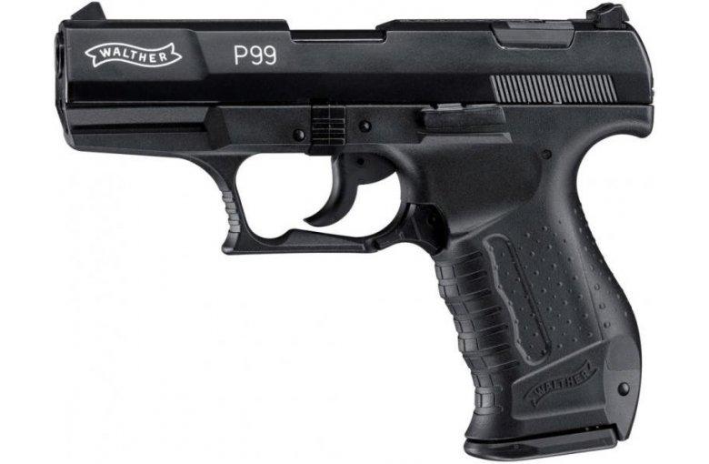 Walther P99 Schreckschuss Pistole 9mm P.A.K. schwarz