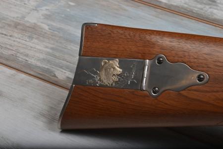 """350.278c Sharps Quigley """"Grizzli"""", Hege-Krupp-Achtkantlauf 34"""""""