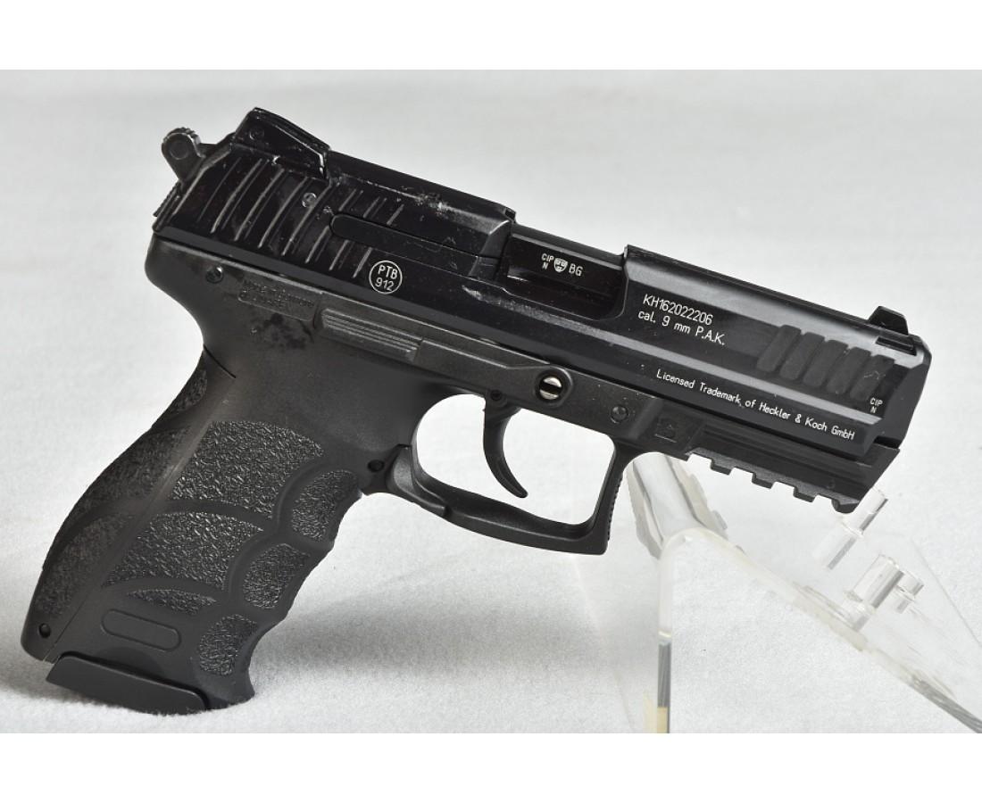 heckler koch p30 schreckschuss pistole 9mm p a k schwarz. Black Bedroom Furniture Sets. Home Design Ideas