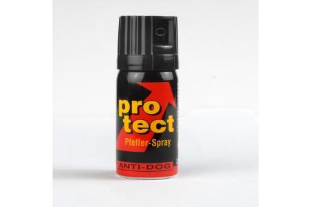 ProTect Pfefferspray / Reizstoffsprühgerät zur Selbstverteidigung, Konzentration: 3% - 40ml