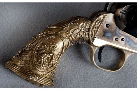 300.104 COLT NAVY TIFFANY 1847 - oval, .44