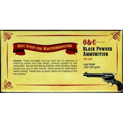 450.200 CAS Patronen Black Powder (Lead Bullet) .45LC, .44-40