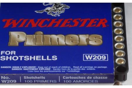 460.609 Winchester Zündhütchen W209