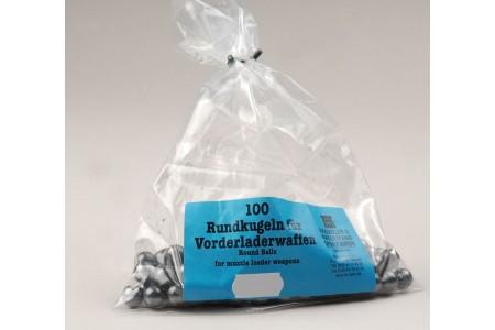 389.080.../.123 Blei-Rundkugeln H&N .394 - .464 (100Stk)