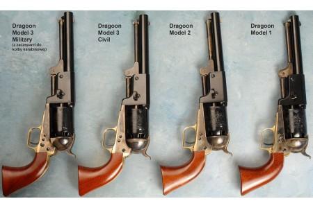 300.302 Vorderlader Revolver Dragoon 1848 Mod.2, 7,5