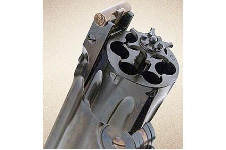 350.405/.415/.400 Schofield Revolver 7