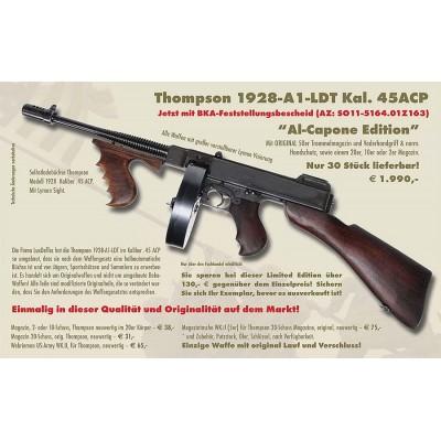 THOMPSON 1928A1-LTD SL-Büchse AL Capone Edition